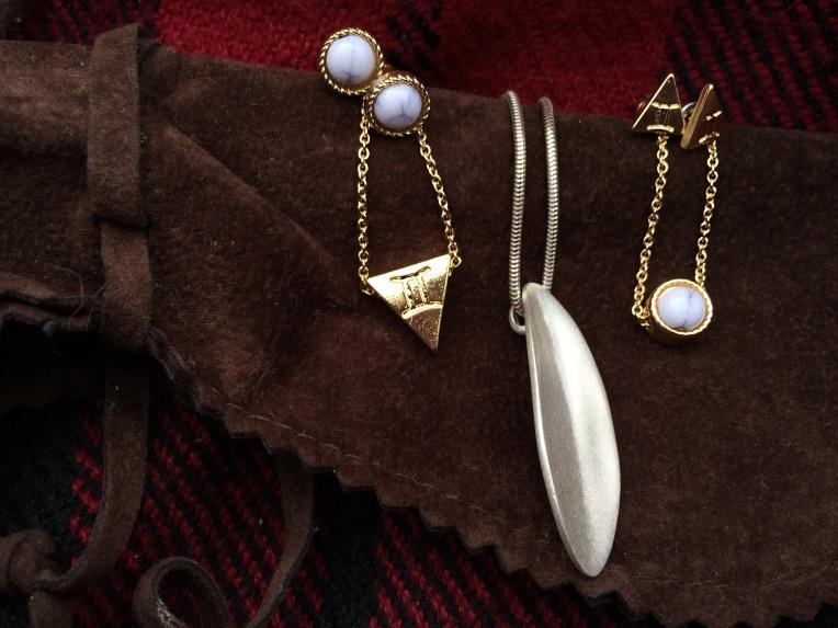 Necklace//bracelets//earrings